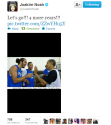tweet of the night Joakim Noah